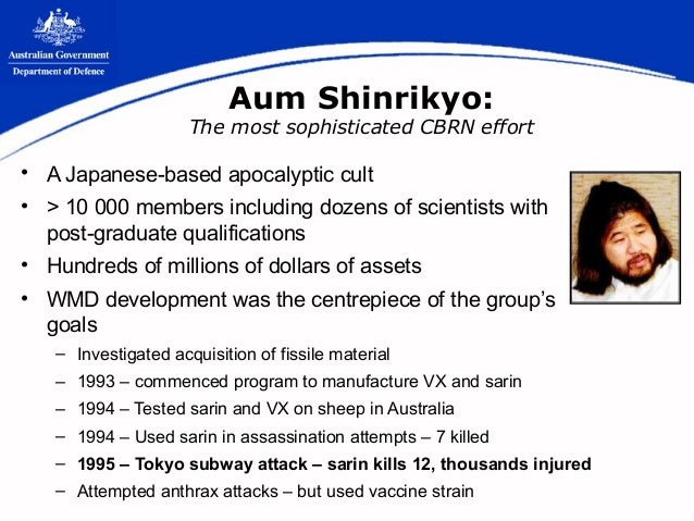 an overview of the aum shinrinkyo Destroying the world to save it: aum shinrikyo, apocalyptic violence, and the new global terrorism [robert jay lifton] on amazoncom free shipping on.