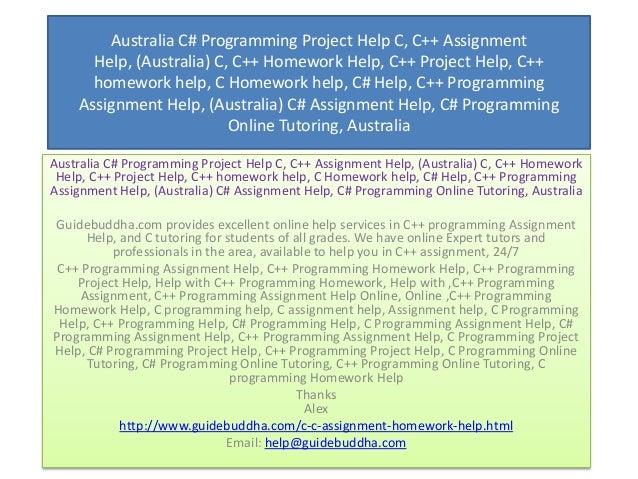 Assignment Help, C Homework Help, Programming Assignment Help