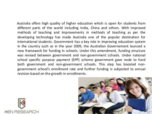 "australian education trends essay Continue reading ""essay: mandating sex education in public schools"" essay: homeless children each year, the numbers of homeless children are growing at an alarming rate all around the world and this is an issue that has deeply affected the lives of millions."