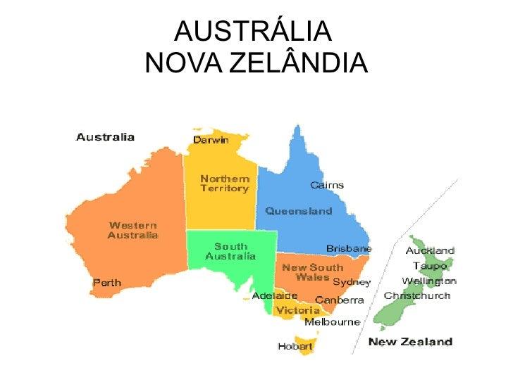 AUSTRÁLIA  NOVA ZELÂNDIA