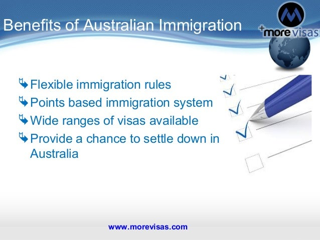 The changing shape of Australia's immigration policy