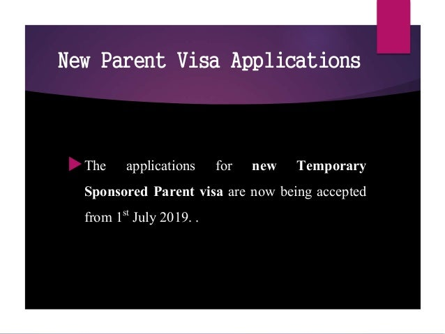 Australia Immigration news and updates July 2019