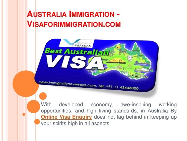 AUSTRALIA IMMIGRATION - VISAFORIMMIGRATION.COM With developed economy, awe-inspiring working opportunities, and high livin...