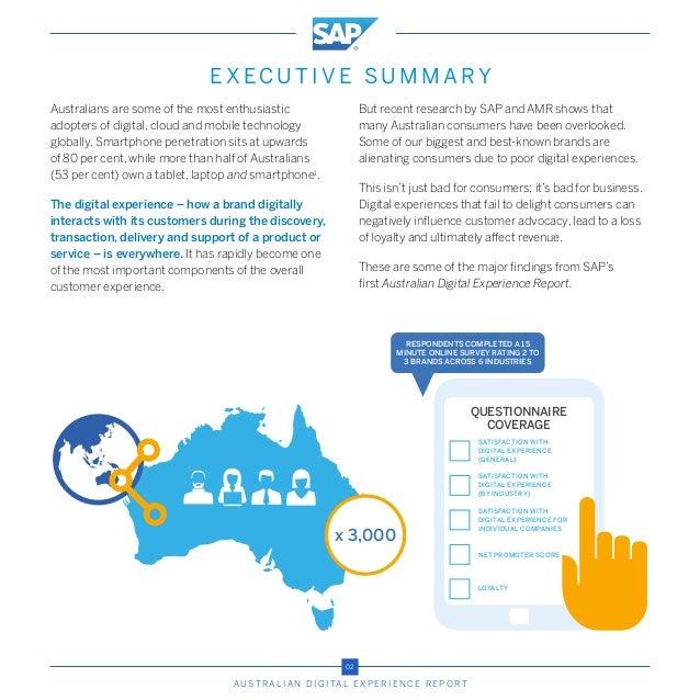 Australian Digital Experience Report Slide 3