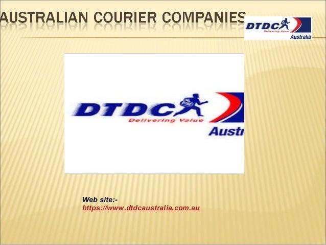 Australian courier companies