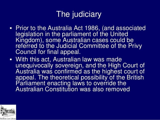 the australia legal system The magistrates court of australia capital territory (act) has no diversionary  programmes in.