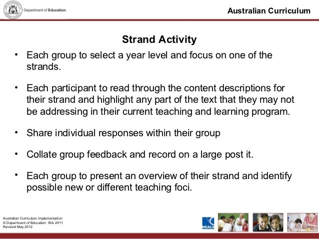 australian curriculum english presentation feb 2012 final version