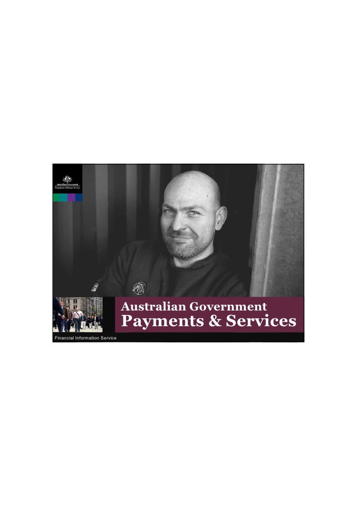 Australian Government                                Payments & ServicesFinancial Information Service