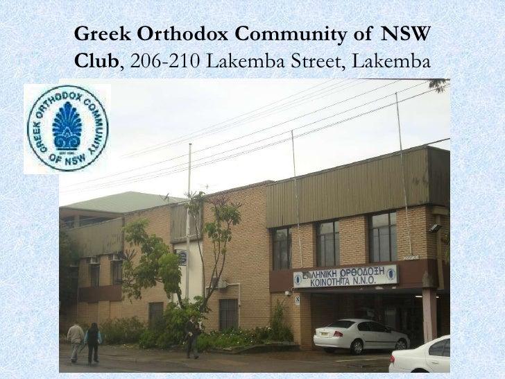 Australian Hellenic community NSW Sydney south