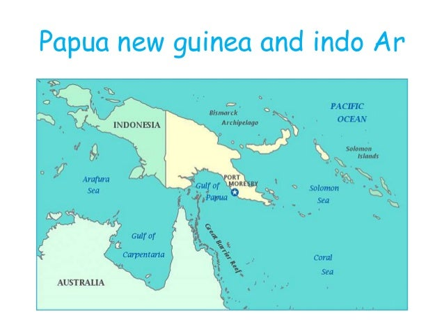 Is Papua New Guinea A Continental Island