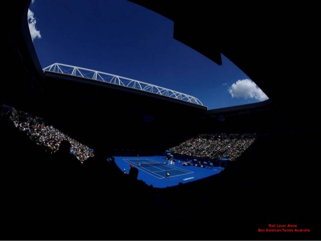 Rod Laver Arena Ben Solomon/Tennis Australia