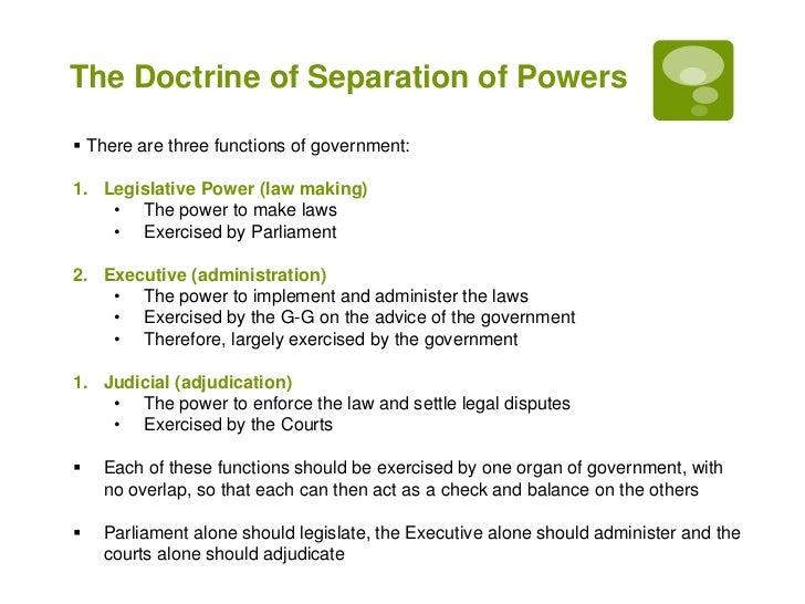 executive branch definition australia