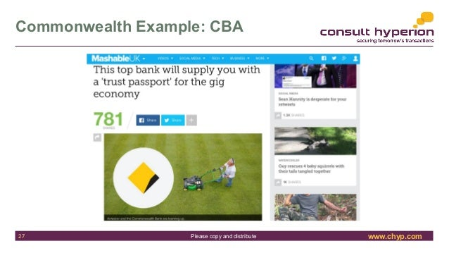 www.chyp.comPlease copy and distribute Commonwealth Example: CBA 27