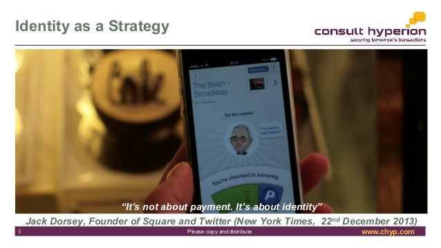 """www.chyp.comPlease copy and distribute Identity as a Strategy """"It's not about payment. It's about identity"""" Jack Dorsey, F..."""