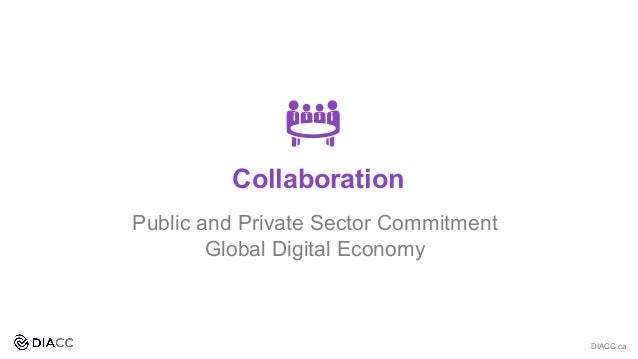 Public and Private Sector Commitment Global Digital Economy DIACC.ca Collaboration
