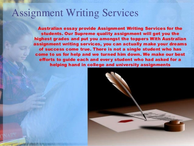 Essay writing services australia