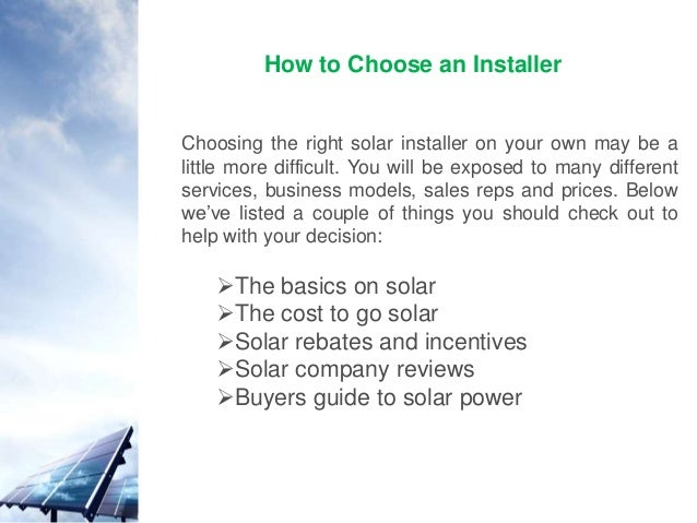 Finding the right solar panel installer is easy with australian solar 3 publicscrutiny Choice Image