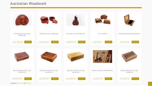 Australian Made Jewellery Boxes Slide 2