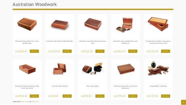 Australian Made Jewellery Boxes Slide 3