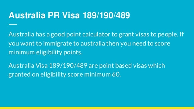 What are my chances of getting an australian visa?