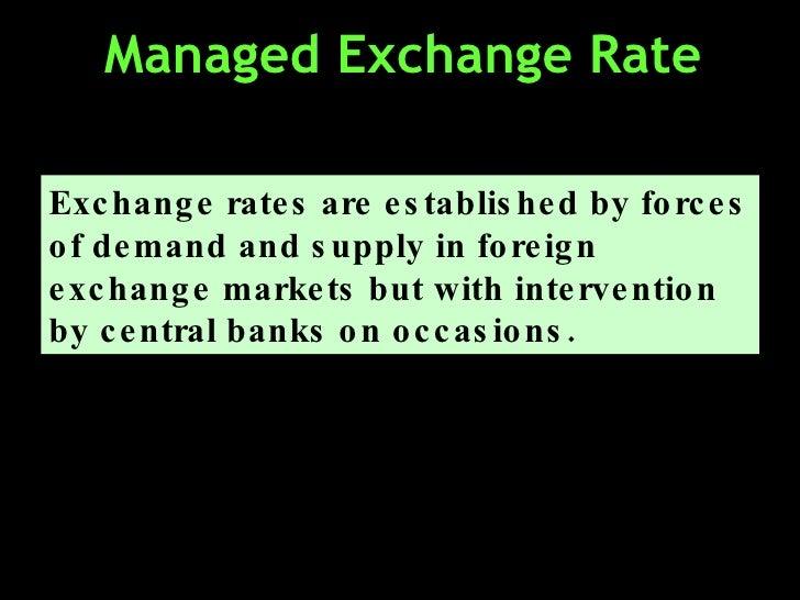 Understanding foreign exchange rates