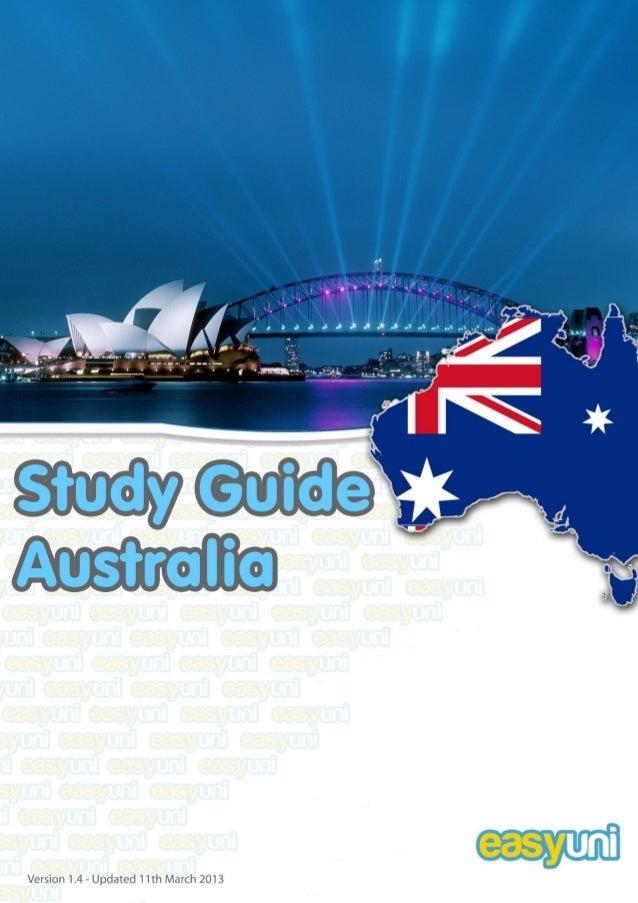 STUDY IN AUSTRALIA 2012www.easyuni.com 2TABLE OF CONTENTSTABLE OF CONTENTS...................................................