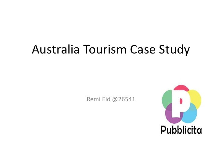 niche tourism case study You'll be given the opportunity to explore niche tourism with a series of case studies including the course at london metropolitan university.