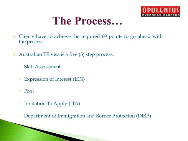 Migrate to Australia From India - Australia Visa Process