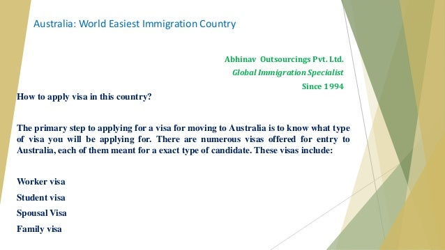 What is the easiest country to immigrate to?