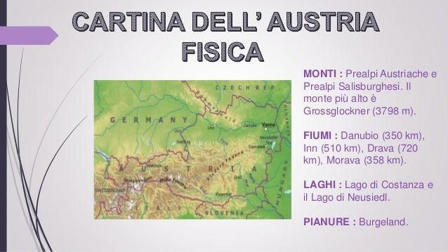 Cartina Del Austria.Austria