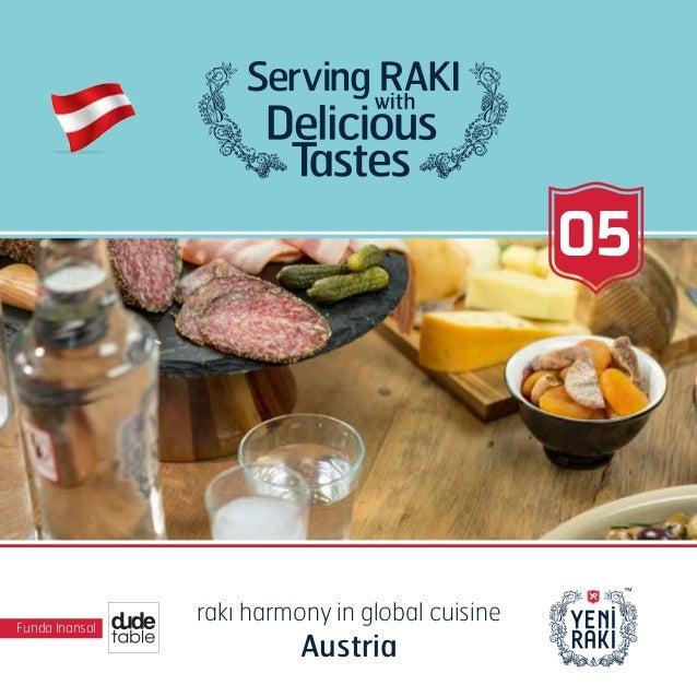 Funda Inansal rakı harmony in global cuisine Austria 05