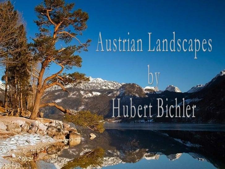Austrian landscapes