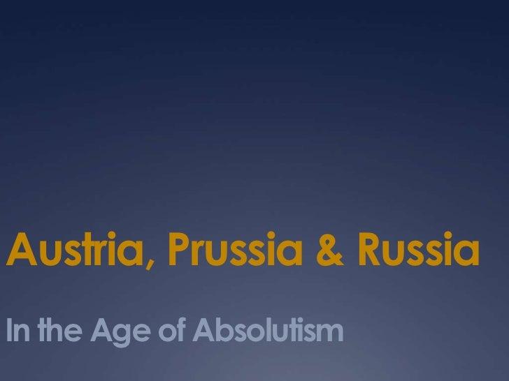 Austria–Prussia rivalry
