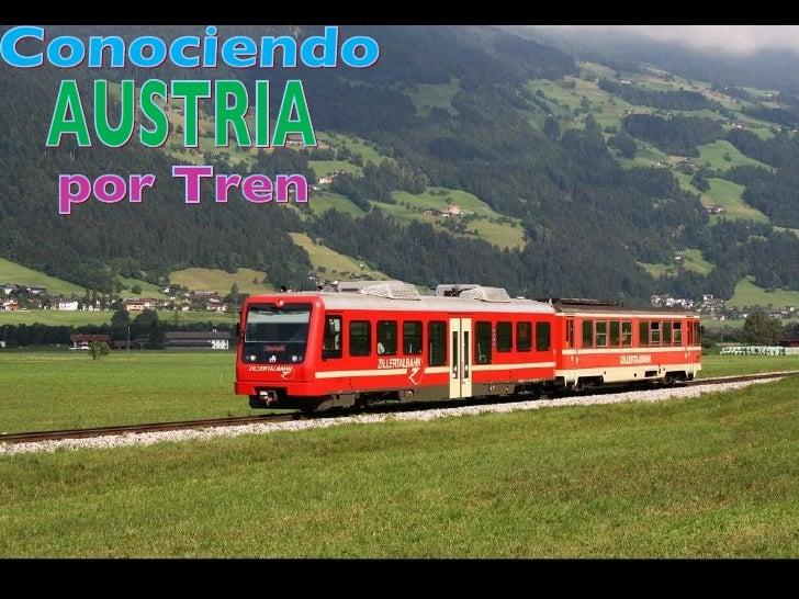 Conociendo por Tren AUSTRIA