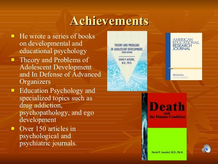 Achievements <ul><li>He wrote a series of books on developmental and educational psychology   </li></ul><ul><li>Theory and...