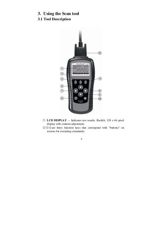 Autel Maxidiag Md801 User Manual