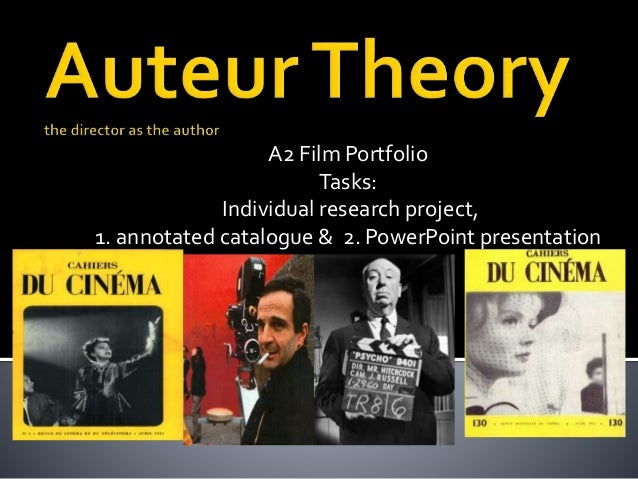 "auteur theory 1 ""the auteur theory is a way of reading and appraising films through the imprint of an auteur (author), usually meant to be the director."