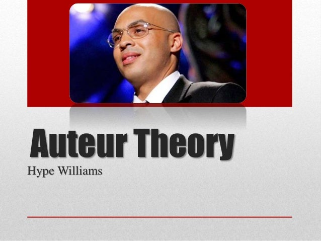Auteur TheoryHype Williams