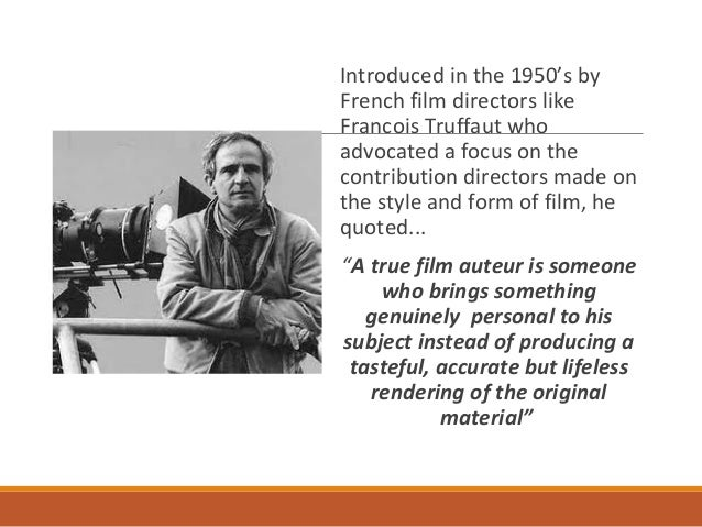 """auteur theory Theory auteur theory""""the auteur theory is a way of reading and appraising films through the imprint of an auteur (author), usually meant to be the director."""