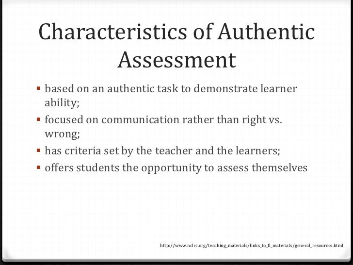 Authentic Classroom-Based Literacy Assessment Essay