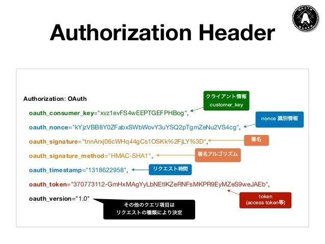 アプリ開発で知っておきたい認証技術 - OAuth 1 0 + OAuth 2 0 +