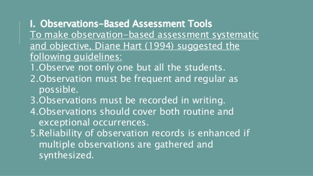 authentic writing assessment tools