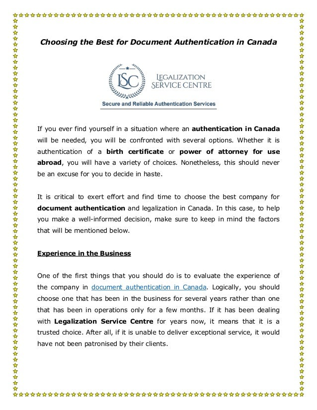 Authentication of documents in canada choosing the best for document authentication in canada if you ever find yourself in a situation solutioingenieria Gallery