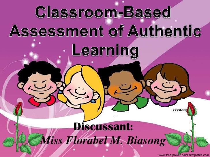 Discussant:Miss Florabel M. Biasong