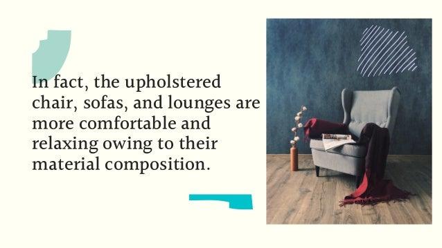 Benefits of Customised Upholstery for Restaurents Slide 3