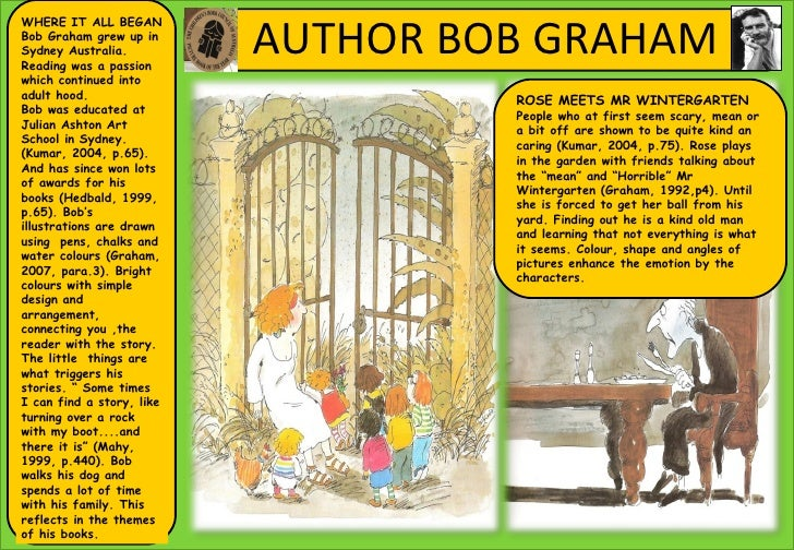 Featured books by Bob Graham | Reading Rockets