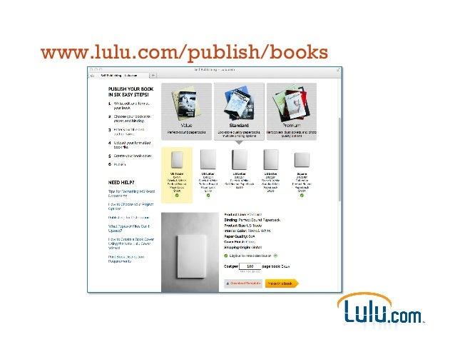 www.lulu.com/publish/books