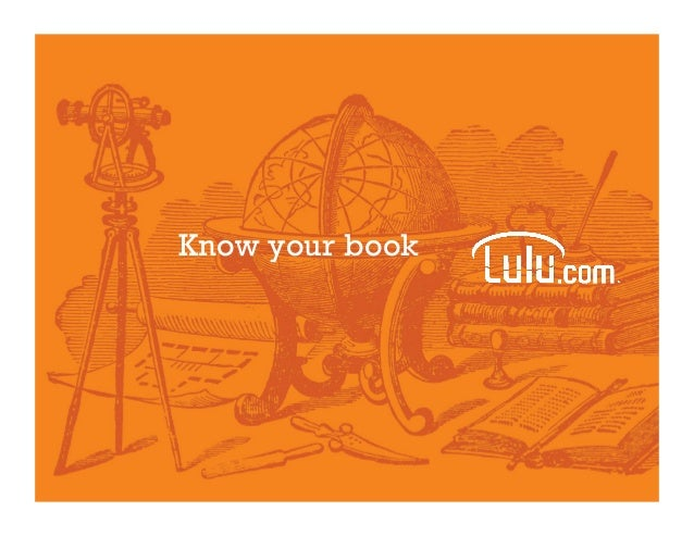 Know your book