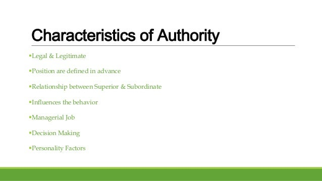"power vs authority essay Power vs authority ""authority and power are two different things: power is the force by means of which you can oblige others to obey you - power vs authority introduction."