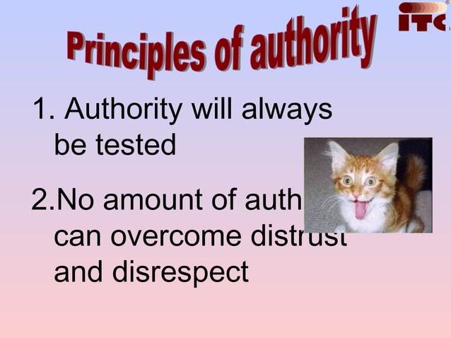 Authority is apoorsubstitute forLeadership